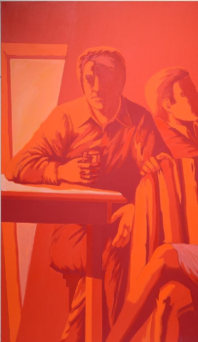 Pop-Expressionist Portrait ORIGINAL SALVATORE GRIPPI - 4