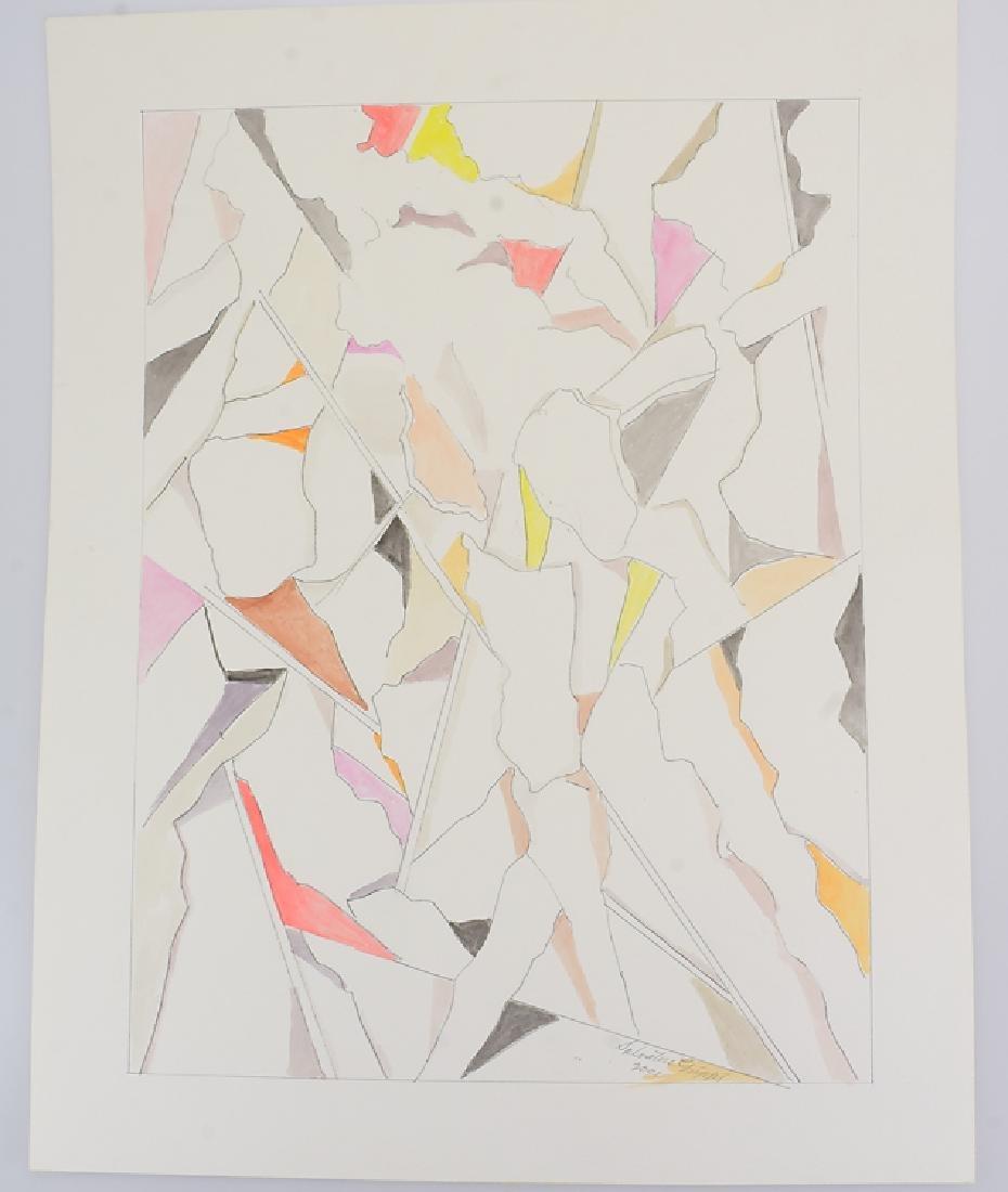 3Pcs Watercolor & Pencil SALVATORE GRIPPI GEOMETRIC - 2