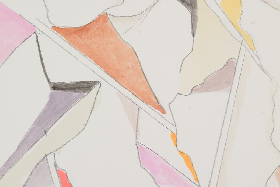 3Pcs Watercolor & Pencil SALVATORE GRIPPI GEOMETRIC - 3