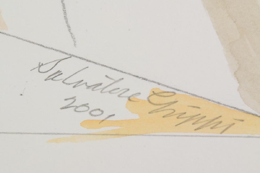 3Pcs Watercolor & Pencil SALVATORE GRIPPI GEOMETRIC - 4