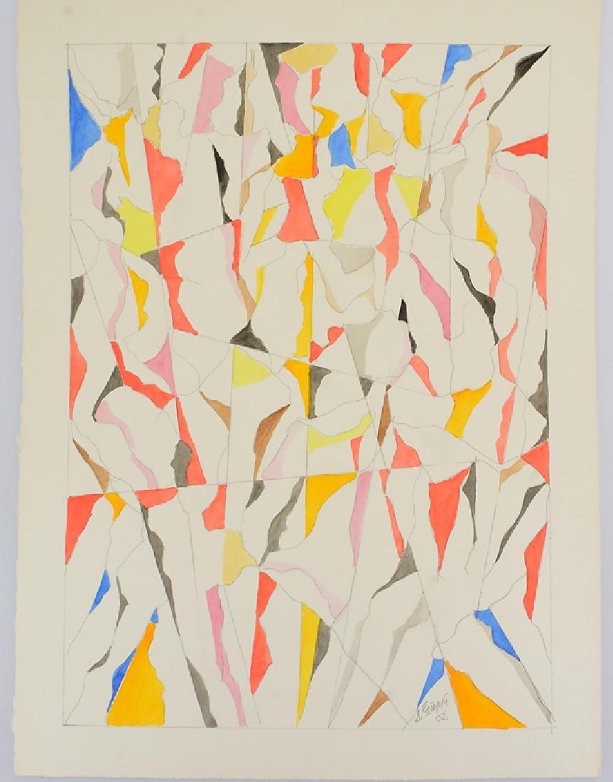 3Pcs Watercolor & Pencil SALVATORE GRIPPI GEOMETRIC - 5