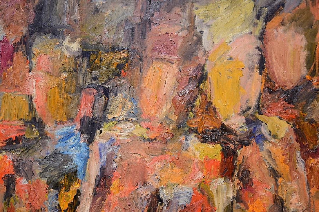 New York School SALVATORE GRIPPI FIGURATIVE ABSTRACT - 2
