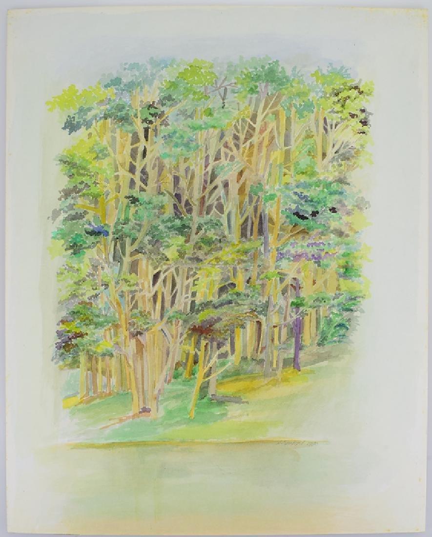 2pcs Original Watercolor Landscapes SALVATORE GRIPPI - 2