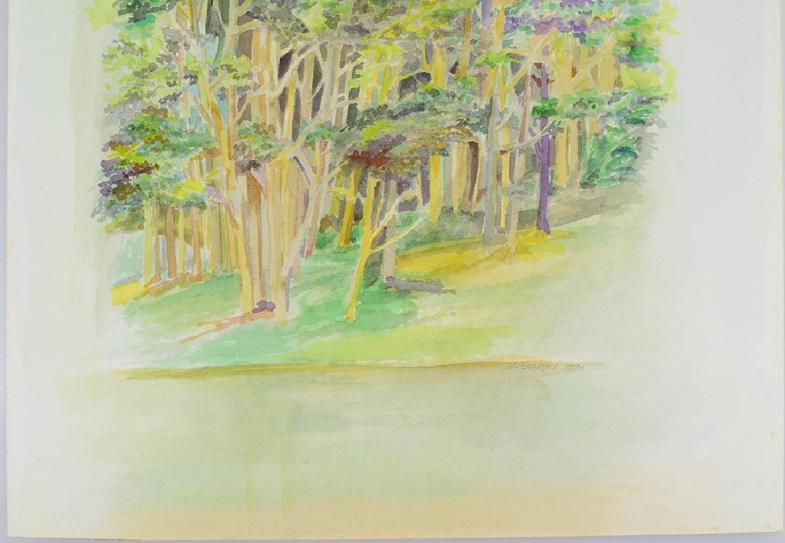 2pcs Original Watercolor Landscapes SALVATORE GRIPPI - 4