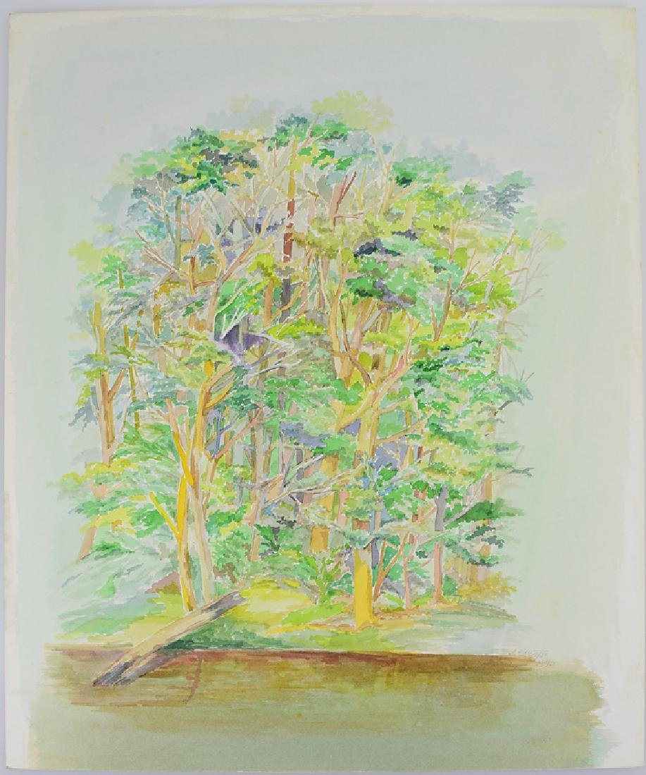 2pcs Original Watercolor Landscapes SALVATORE GRIPPI - 6