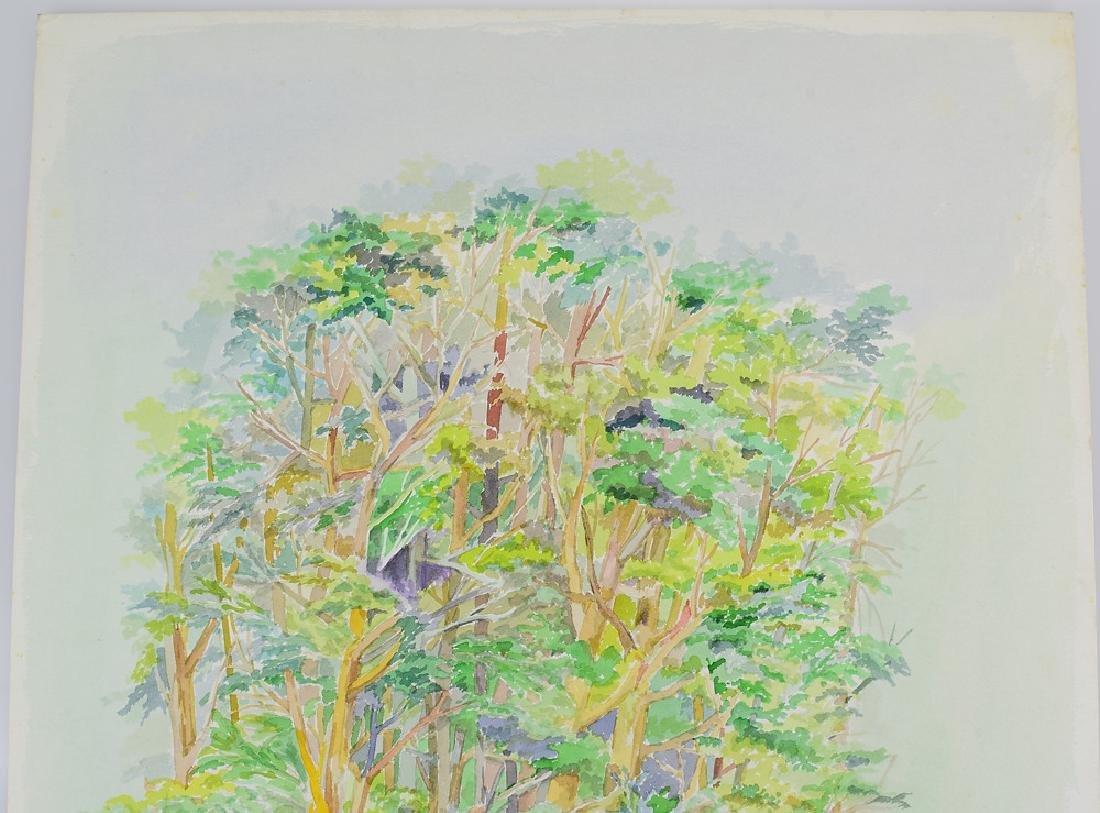 2pcs Original Watercolor Landscapes SALVATORE GRIPPI - 7