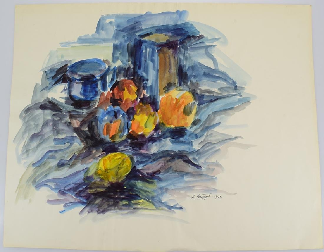 Watercolor Still-Life SALVATORE GRIPPI ORIGINAL