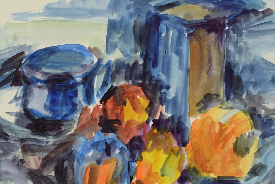 Watercolor Still-Life SALVATORE GRIPPI ORIGINAL - 2