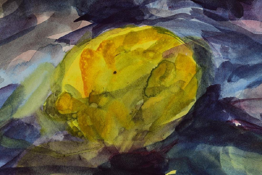 Watercolor Still-Life SALVATORE GRIPPI ORIGINAL - 3