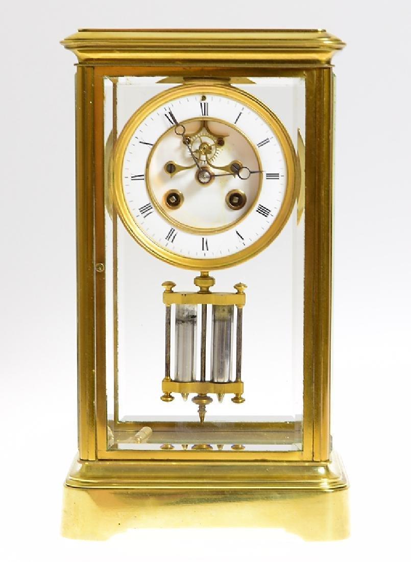 Antique Clock UNKNOWN FRENCH MANUFACTURER c1915 Running