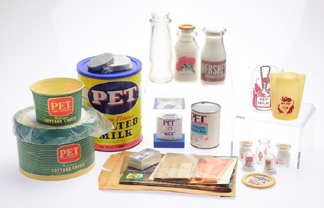 20Pcs Pet Milk VINTAGE DAIRY & CONSUMER COLLECTIBLES