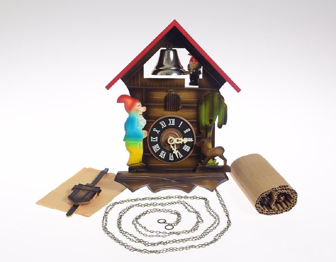 Vintage Cuckoo Clock REGULA MOVEMENT ONE-DAY CUCKOO