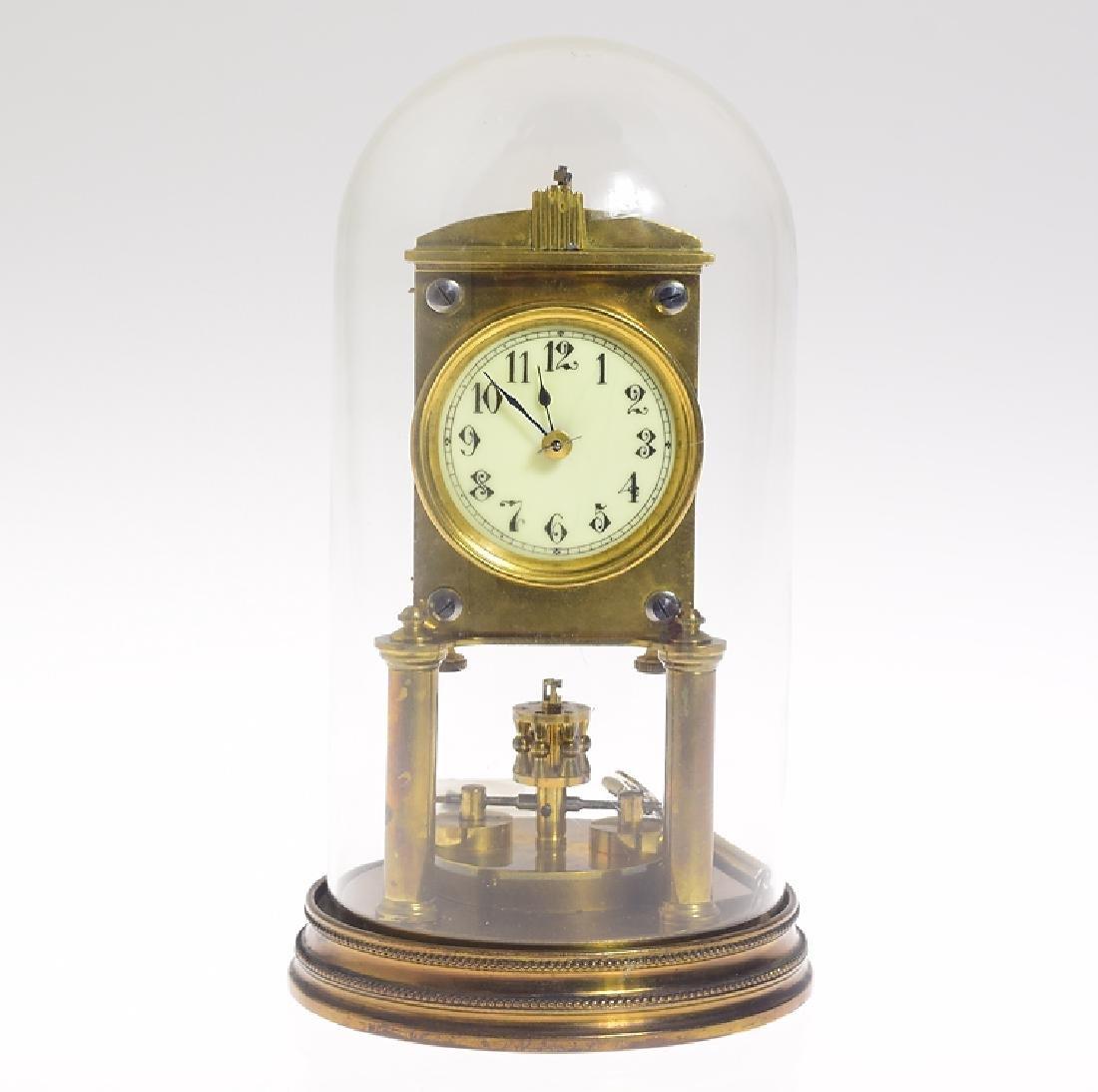 Antique Collectible Clock JUF/JAHRESURENFABRIK