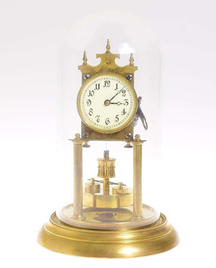 Antique Torsion Clock KIENZLE 400-DAY CLOCK 1906