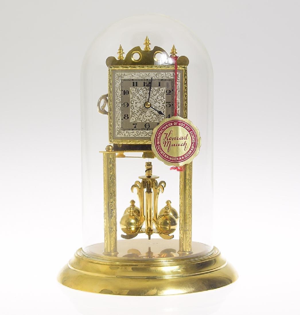 Konrad Mauch Koma VINTAGE 400-DAY/TORSION CLOCK W/