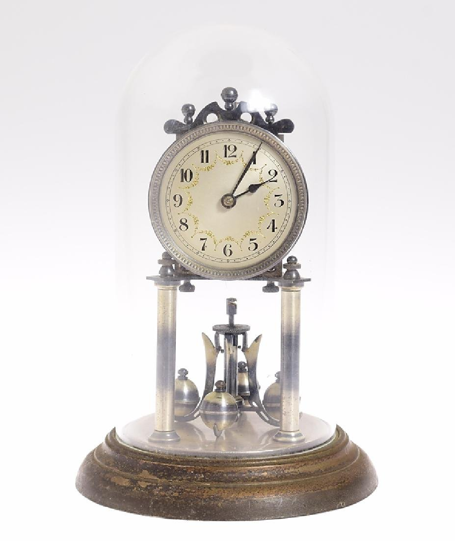 Year Clock Co JAHRESURENFABRIK ANTIQUE TORSION CLOCK