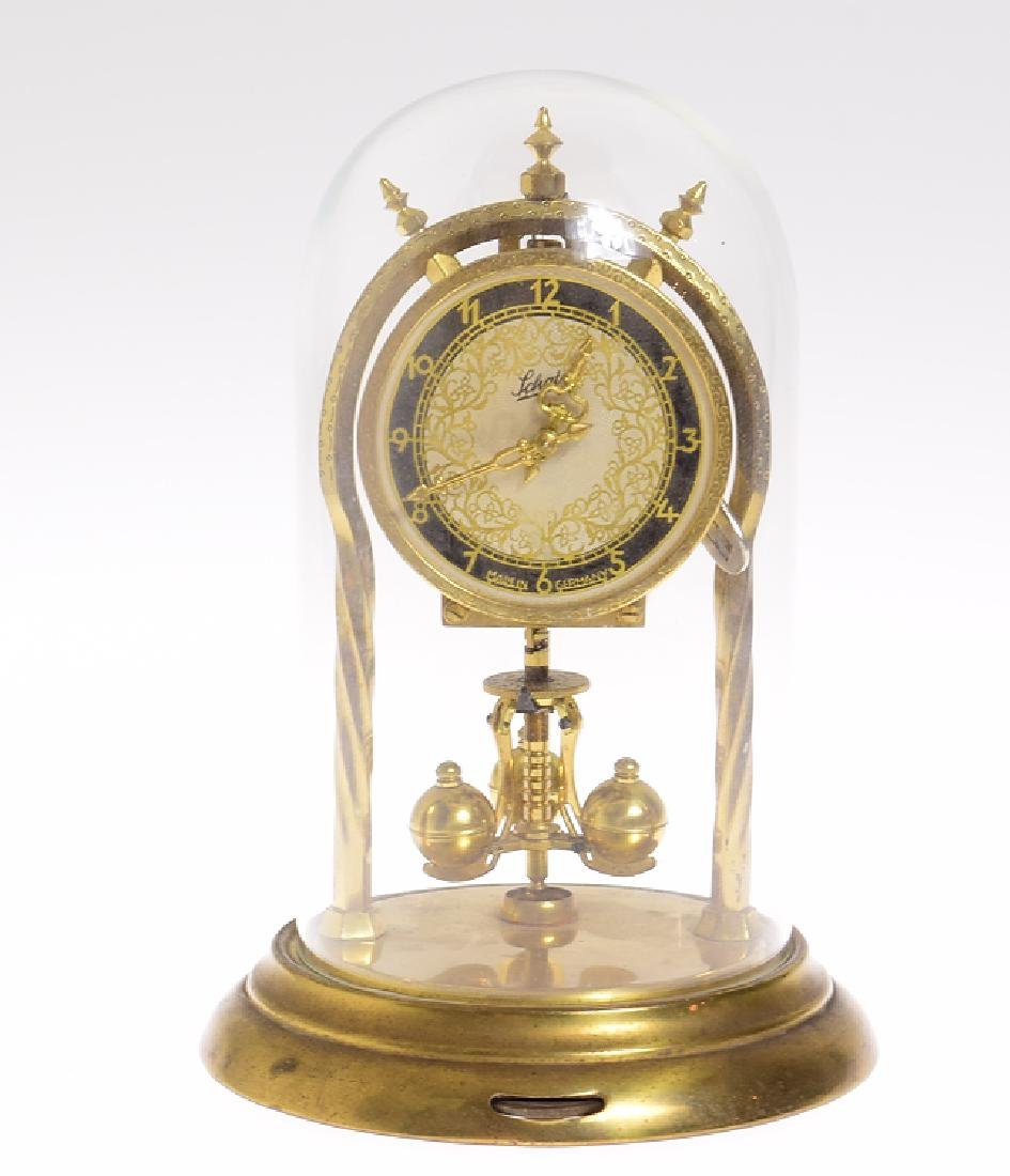 Vintage Torsion Clock AUG SCHATZ & SOHNE 400-DAY CLOCK