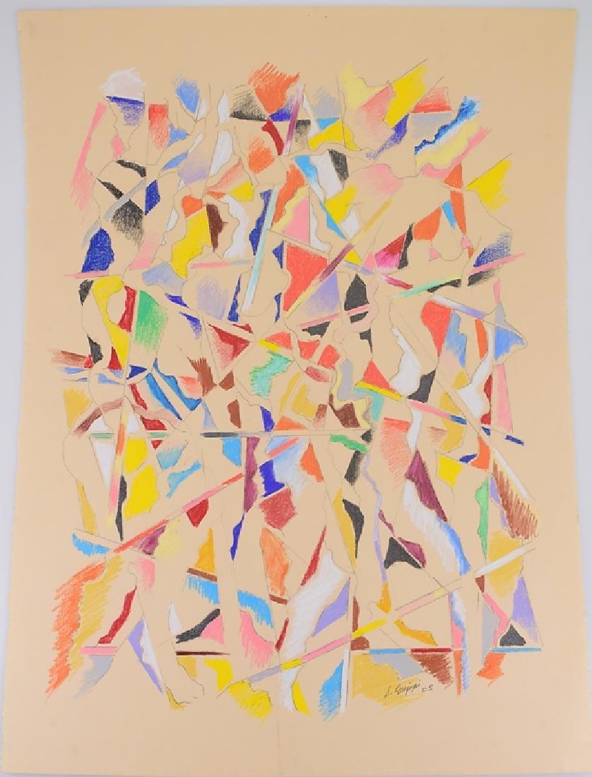 Colored Pencil Drawing ORIGINAL SALVATORE GRIPPI