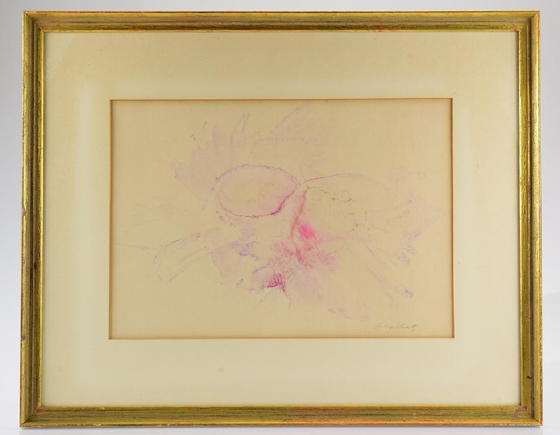 Water Color Painting ARTIST SIGNED AUBREY SCHWARTZ