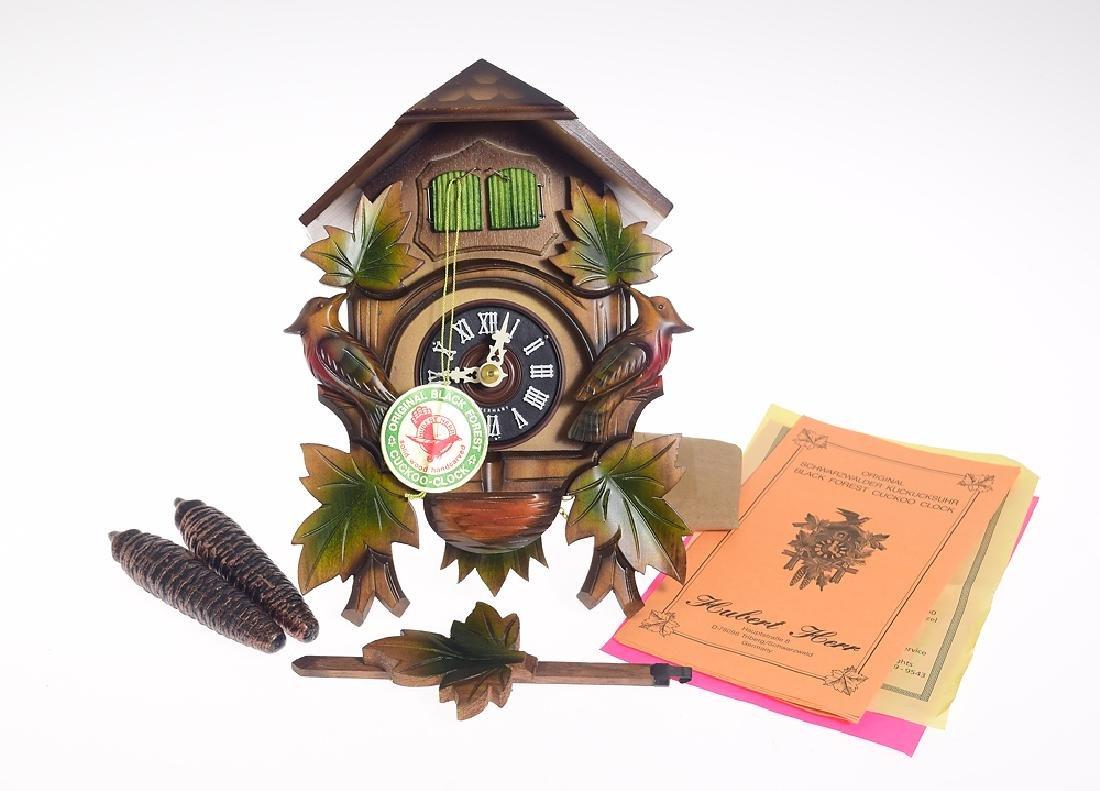 Collectible Cuckoo Clock VINTAGE HUBERT HERR HAND