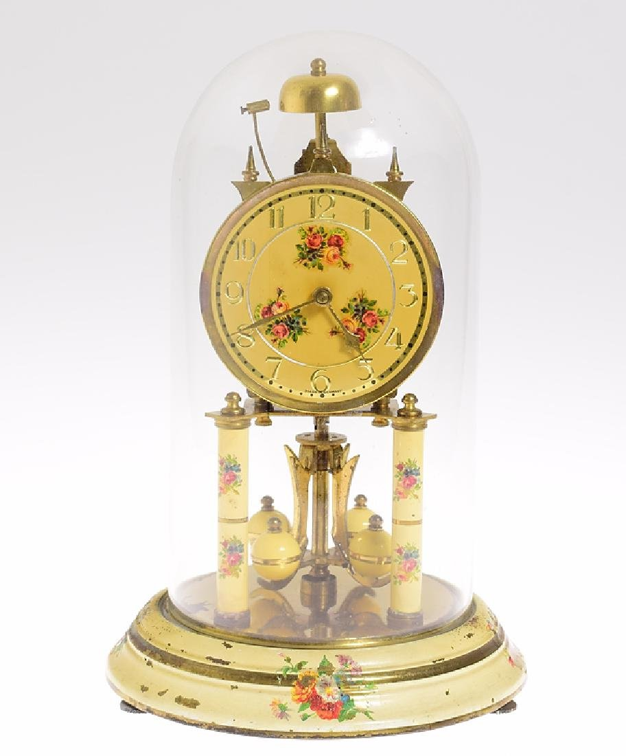 Antique Torsion Clock HERR PASSING HOUR STRIKE 400-DAY