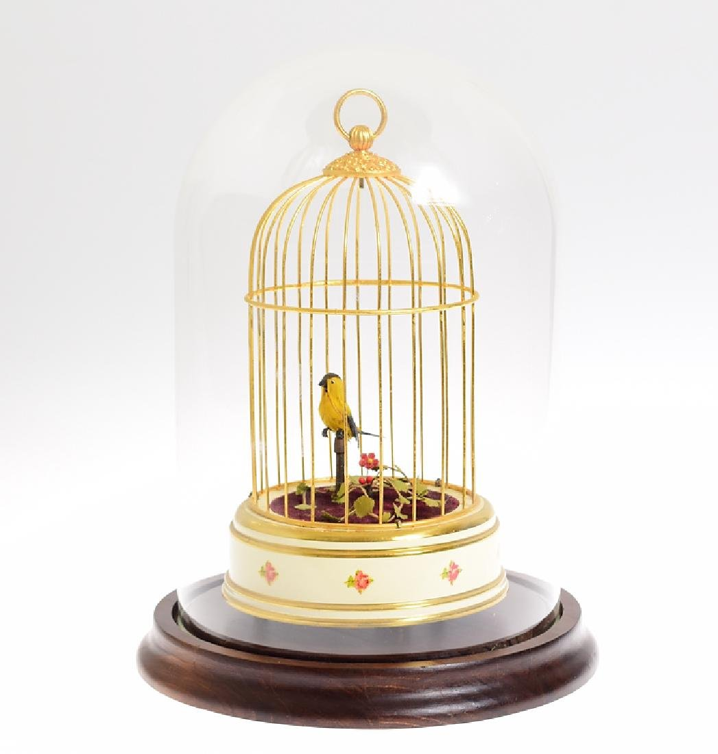 Unique Singing Canary 20TH CENTURY FRENCH ART PIECE