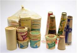 Large Collection Sealright VINTAGE/ANTIQUE DAIRY