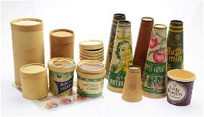Large Collection Sealright VINTAGEANTIQUE DAIRY