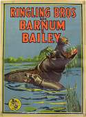 Vintage Circus RINGLING BROS AND BARNUM & BAILEY POSTER