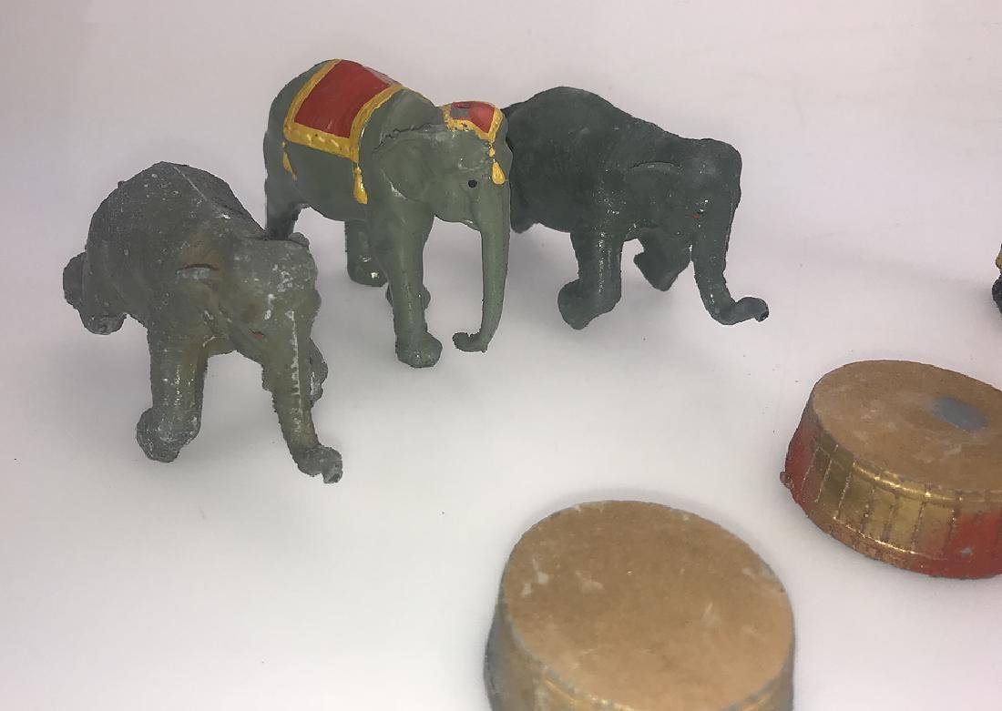 9pcs Britain's Mammoth Circus COLLECTIBLE CAST METAL - 2