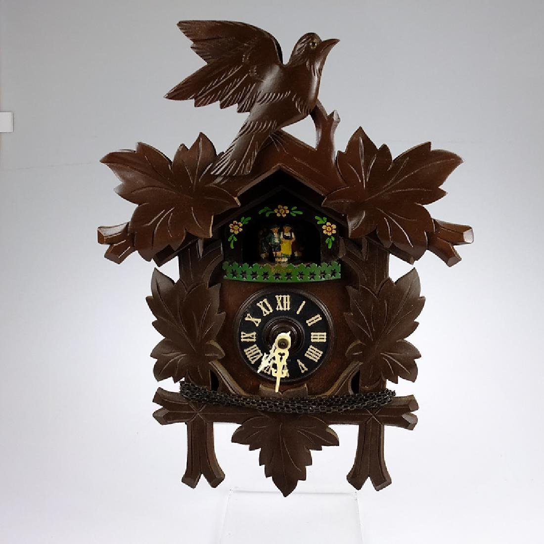 Cuckoo Style Clock EXCELLENT CONDITION BLACK FOREST