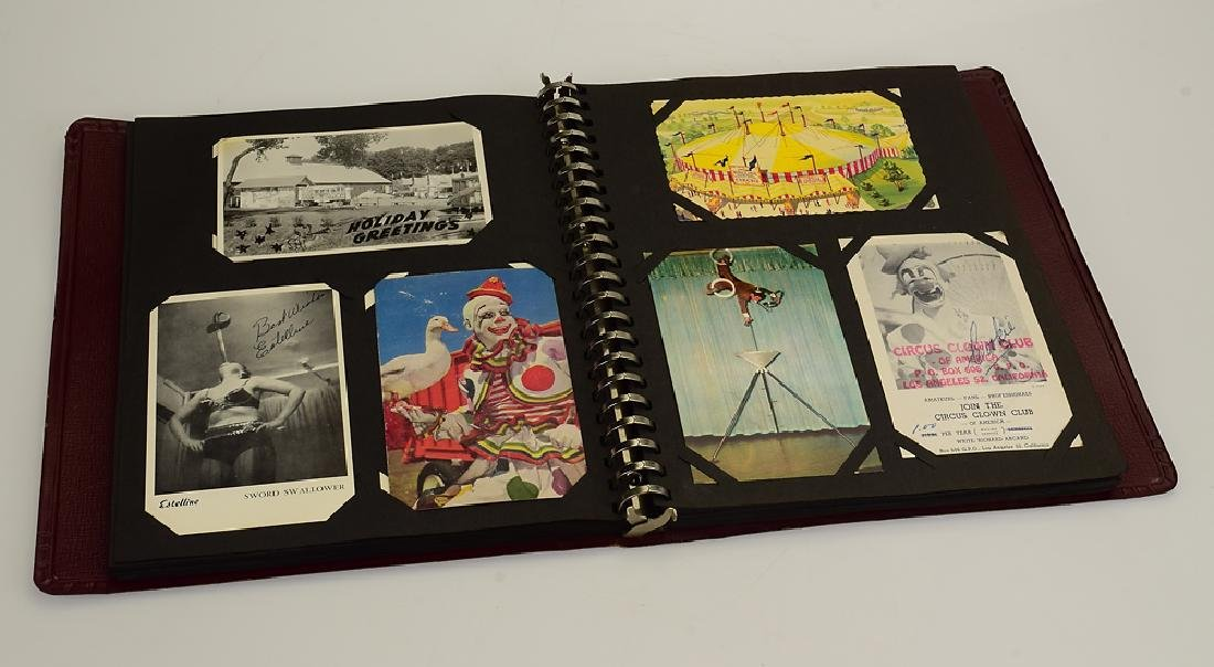 Circus Post Cards ANTIQUE VINTAGE & MODERN COLLECTIBLE