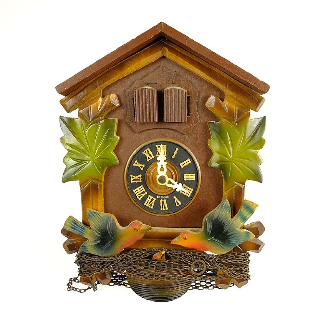 Black Forest Clock CUCKOO CLOCK VINTAGE EMIL