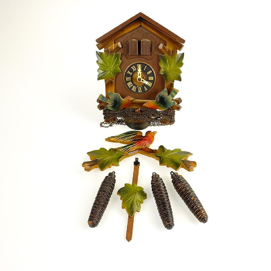 Black Forest Clock CUCKOO CLOCK VINTAGE EMIL - 2