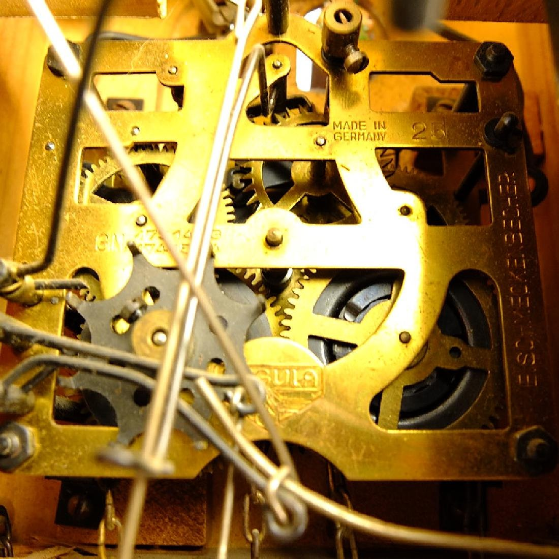 Black Forest Clock CUCKOO CLOCK VINTAGE EMIL - 5