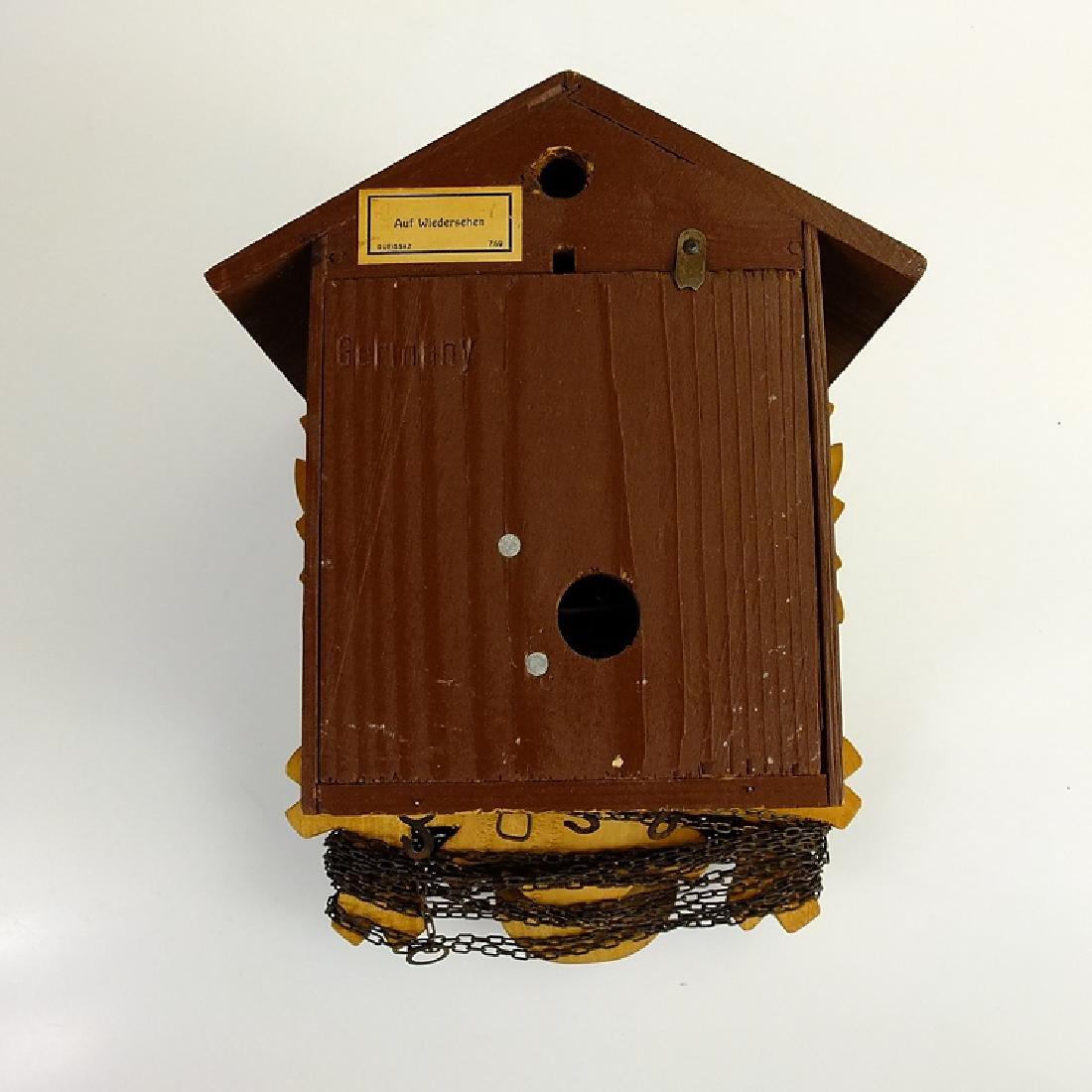 Black Forest Clock CUCKOO CLOCK VINTAGE EMIL - 6