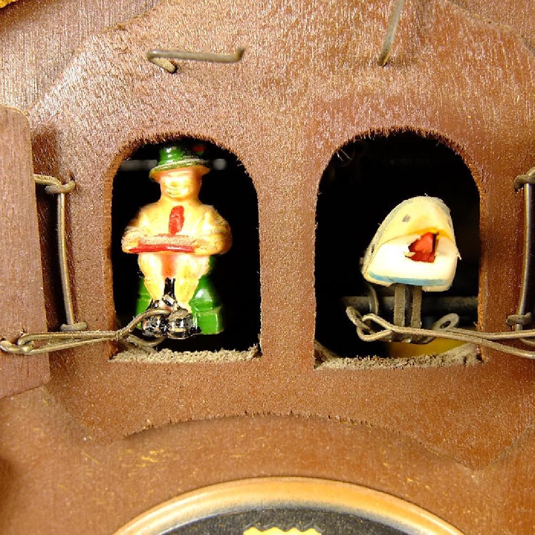Black Forest Clock CUCKOO CLOCK VINTAGE EMIL - 9
