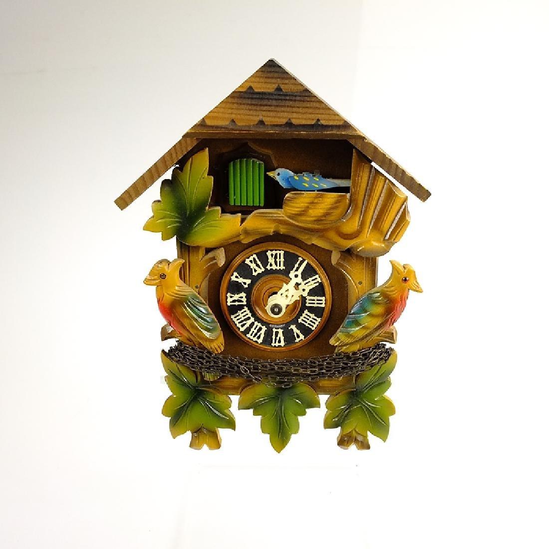Black Forest Clock VINTAGE CUCKOO CLOCK HUBERT HERR