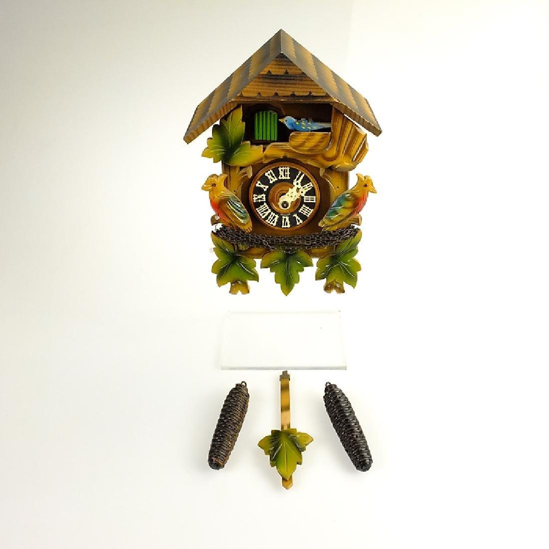 Black Forest Clock VINTAGE CUCKOO CLOCK HUBERT HERR - 2