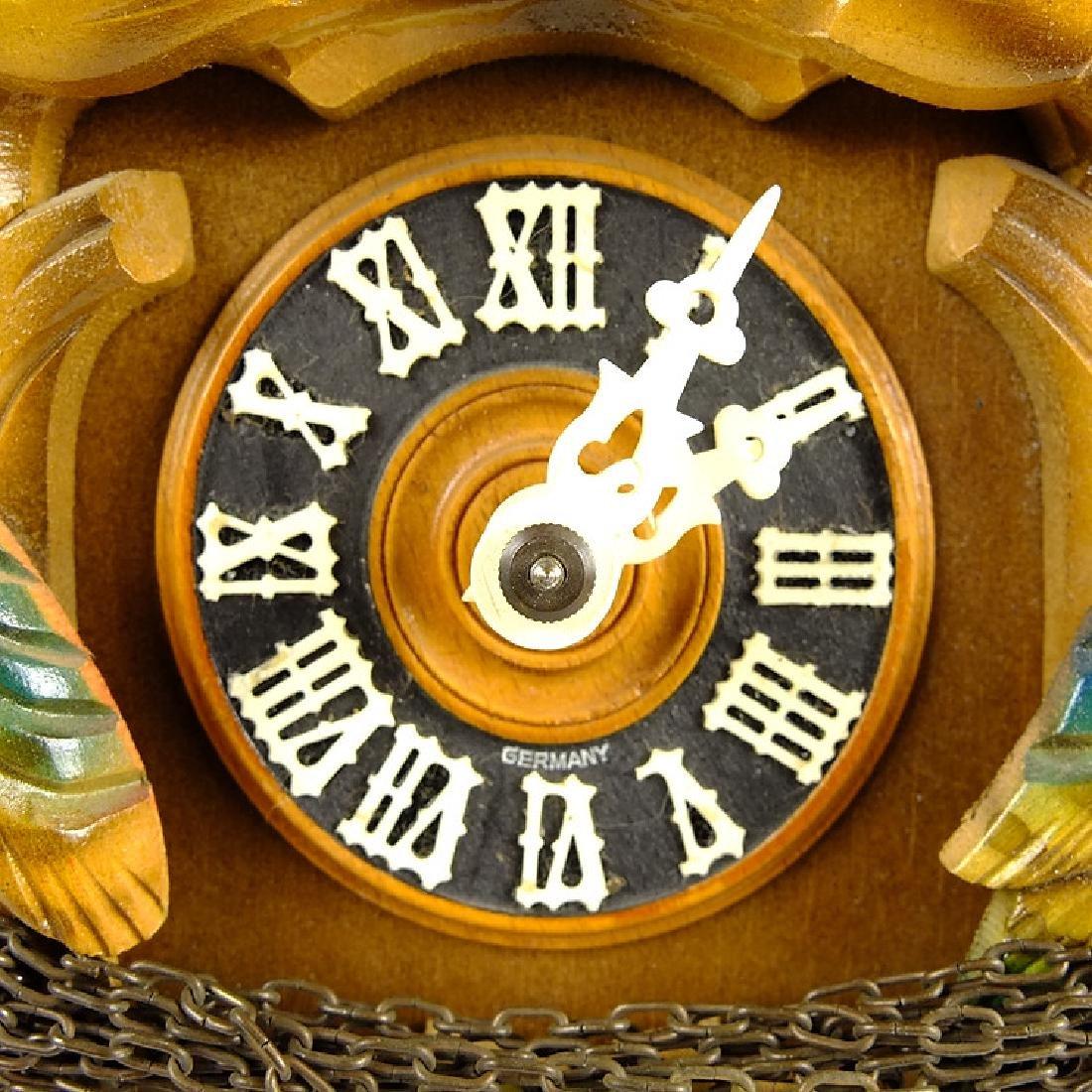 Black Forest Clock VINTAGE CUCKOO CLOCK HUBERT HERR - 6