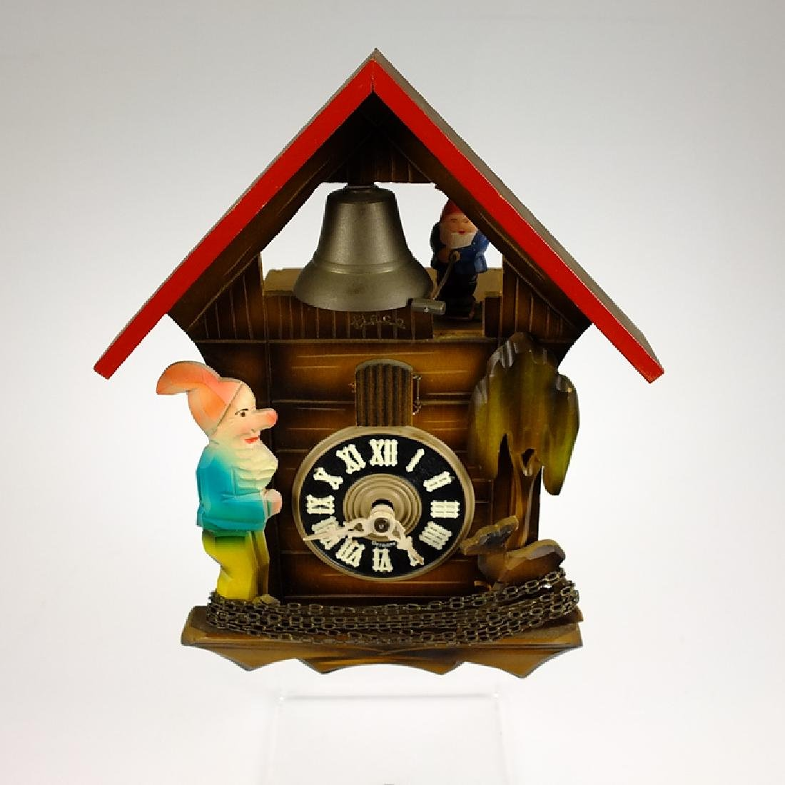 Elf Bell Ringer CUCKOO CLOCK BLACK FOREST CLOCK HECO