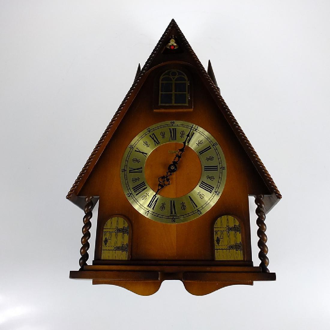 Cuckoo Clock Mfg Co LINDEN 8-DAY CLOCK BLACK FOREST