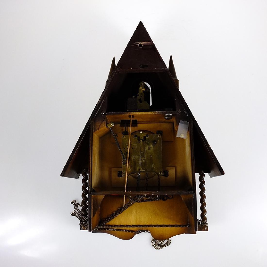 Cuckoo Clock Mfg Co LINDEN 8-DAY CLOCK BLACK FOREST - 3