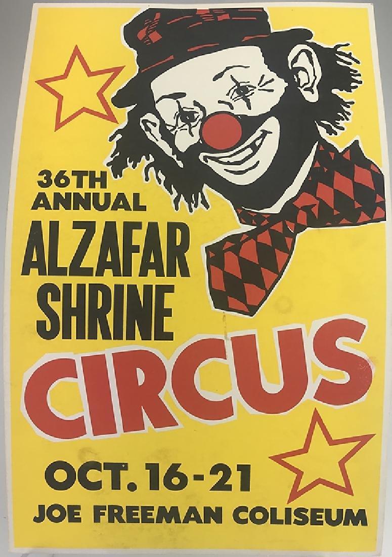 40pcs Circus Poster Board CIRCUS FAIR & CARNIVAL - 2