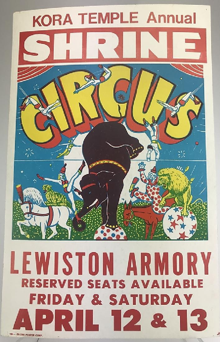 40pcs Circus Poster Board CIRCUS FAIR & CARNIVAL - 5