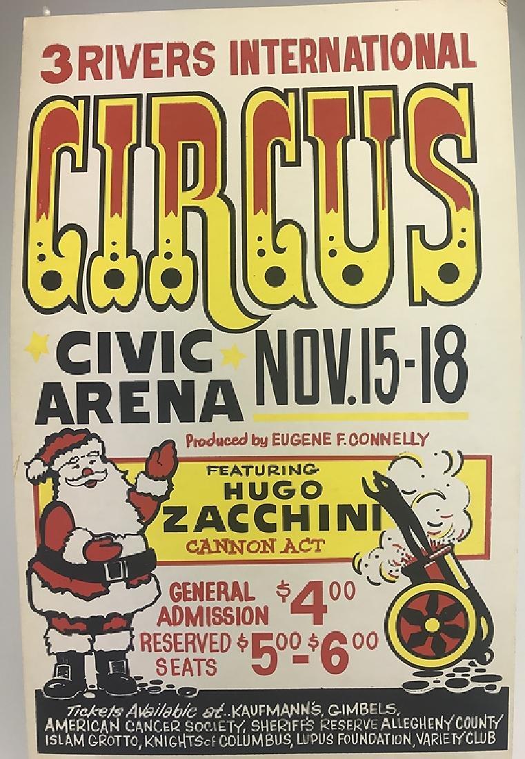 40pcs Circus Poster Board CIRCUS FAIR & CARNIVAL - 6