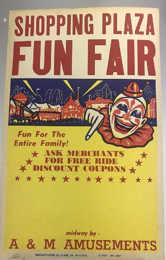 40pcs Circus Poster Board CIRCUS FAIR & CARNIVAL - 8