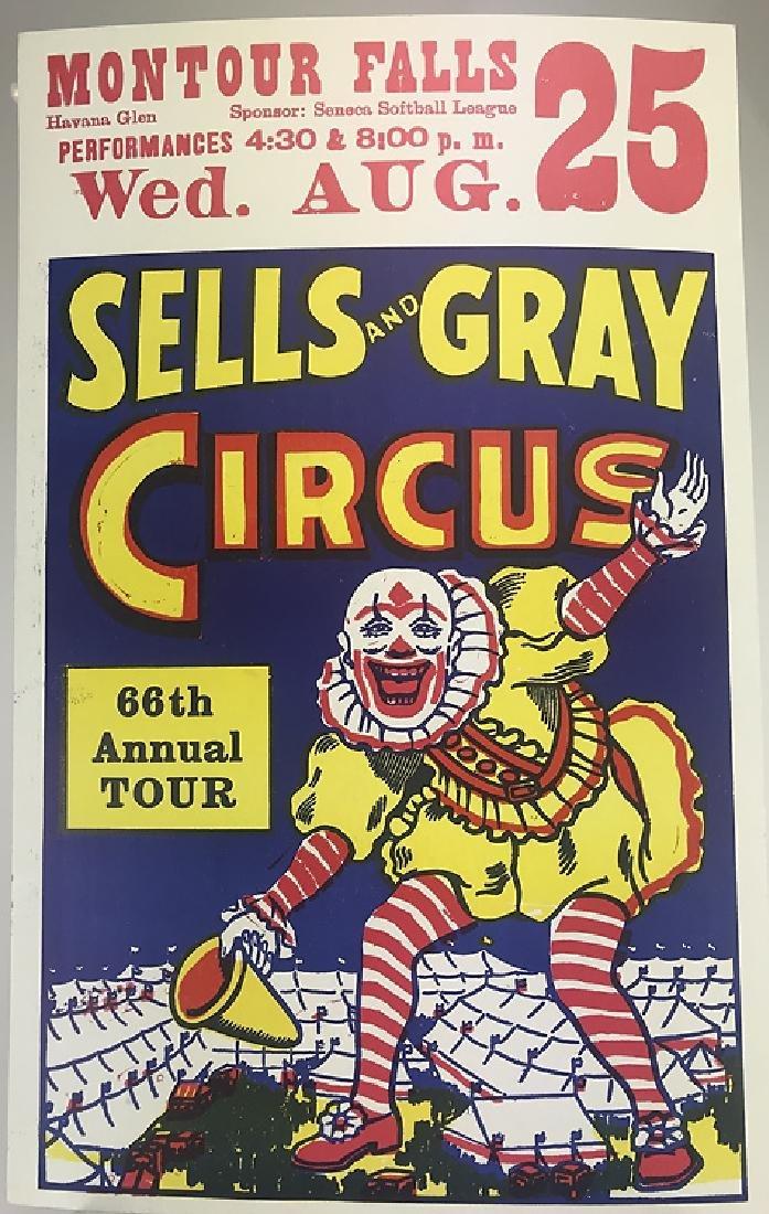 40pcs Circus Poster Board CIRCUS FAIR & CARNIVAL - 9