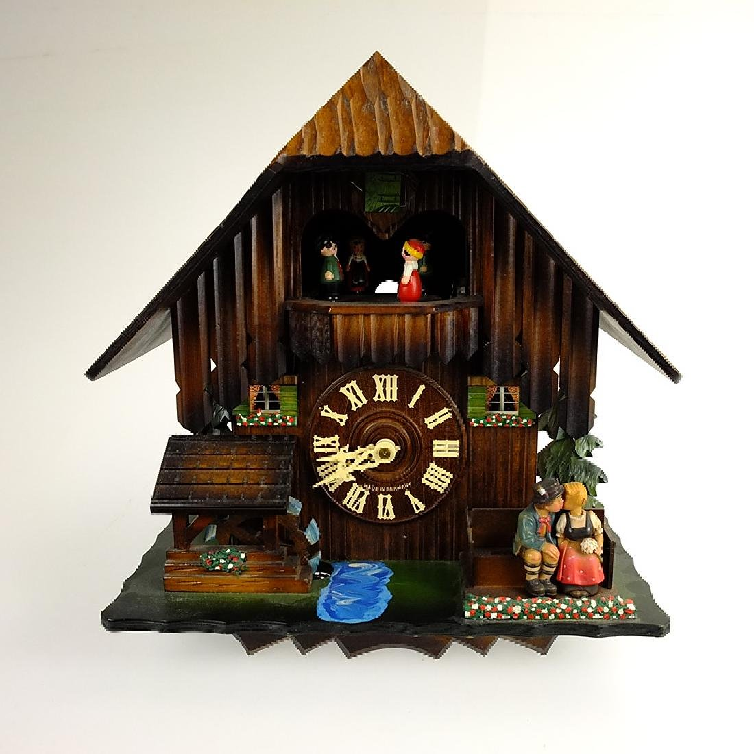 Black Forest Clock VINTAGE CUCKOO CLOCK EXCELLENT
