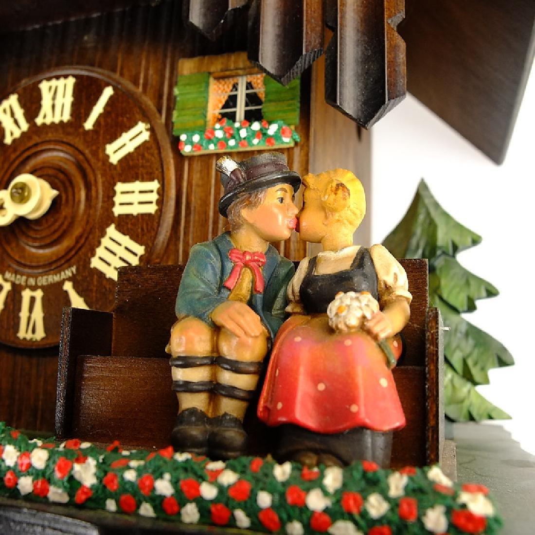 Black Forest Clock VINTAGE CUCKOO CLOCK EXCELLENT - 6